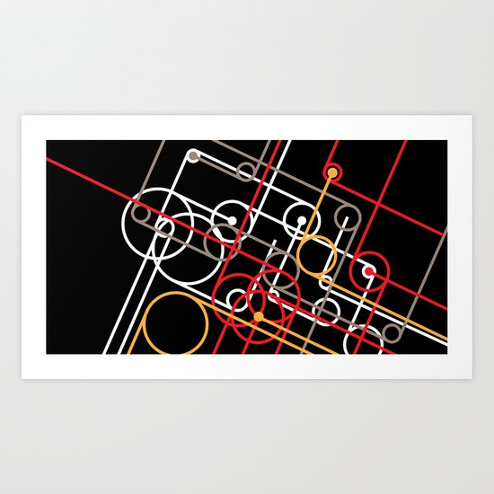 Unidentified Energy Art Print