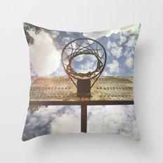 Hoosier Basketball Throw Pillow