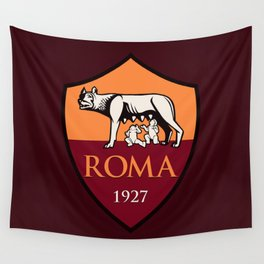 AS Roma Wall Tapestry