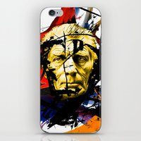 boxing iPhone & iPod Skins featuring Boxing Beckett by Genco Demirer