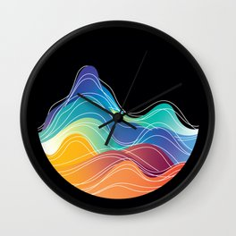 Over & Under Wall Clock