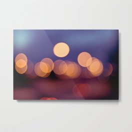 Street lights Metal Print