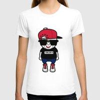 hiphop T-shirts featuring 30Billion - Hiphop Bear 01 by 30Billion