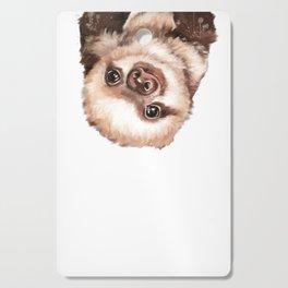 Baby Sloth Cutting Board