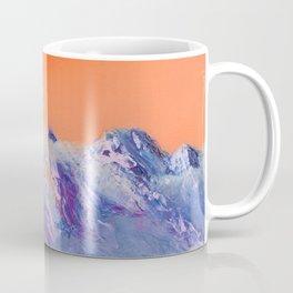 Mountains landscape. Diptych Coffee Mug