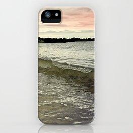 Sunset Crashing iPhone Case