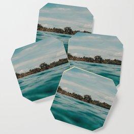 Shipwrecked Ocean Blues Coaster