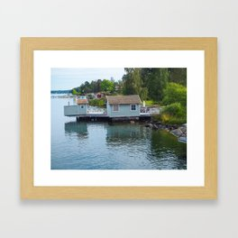 Landing Stage Framed Art Print
