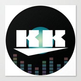 DJ KK Canvas Print