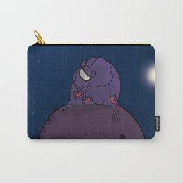Cuttlien purple Carry-All Pouch