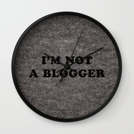 Blogger Wall Clock
