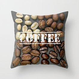 Coffee Heaven Throw Pillow
