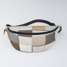 Incomplete Wall Tiles Fanny Pack