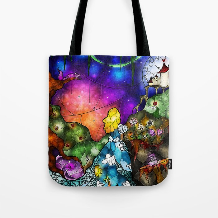 Wonderland (Once Upon A Time Series) Tote Bag