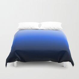blue luminosity in modern design Duvet Cover