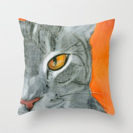 Cecelia Oak Throw Pillow