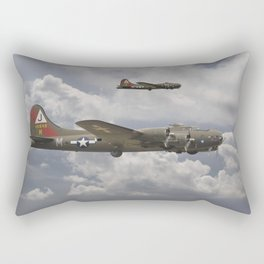 B17 - 511 Squadron Rectangular Pillow