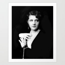 Ruby Keeler by Alfred Cheney Johnston Art Print