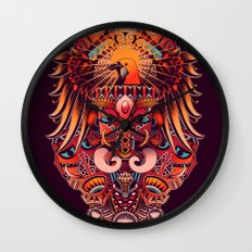 The Beauty of Papua Wall Clock