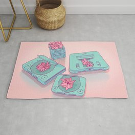 Flowers & Consoles Rug