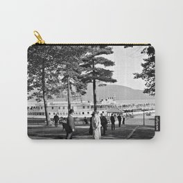 Vintage Lake George: The Sagamore Docks at Green Island Carry-All Pouch