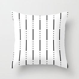 Morse Code #159 Throw Pillow