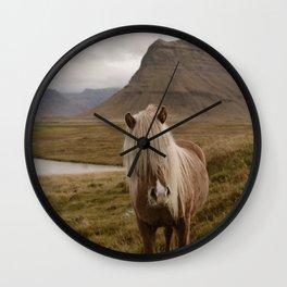 Kirkufell Pony Wall Clock