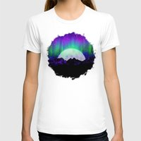 northern lights T-shirts featuring Under the Northern Lights by Noonday Design