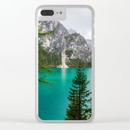 Deep Aqua Clear iPhone Case