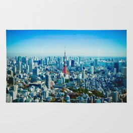 View of Tokyo Rug