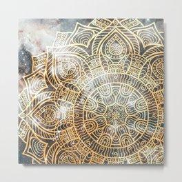 Space mandala 28 Metal Print