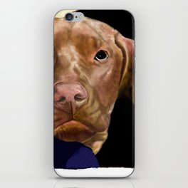 Hunter the Bashful Vizsla iPhone Skin