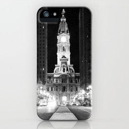Philly by Night iPhone Case