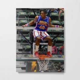 Make a basket now... Metal Print