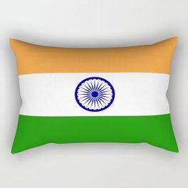 Flag of India Rectangular Pillow