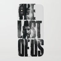 the last of us iPhone & iPod Cases featuring The Last of Us by Tatiana Anor