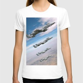BEAUTIFUL AIRPLANE FORMATION T-shirt