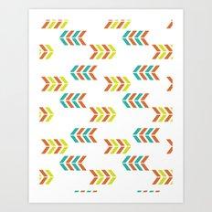 ArrowStrips Art Print