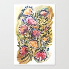 Thistles Canvas Print
