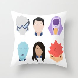 Choose Your Party No. 1 Throw Pillow