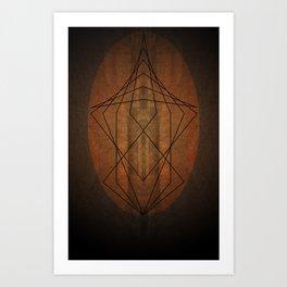 Rock Geometry Art Print