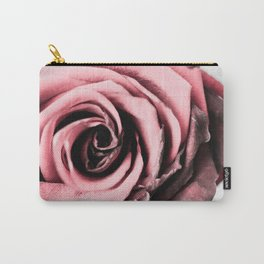 Rusty Blush Carry-All Pouch