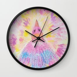 Pretty Bird Wall Clock