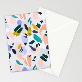 TERRAZZO BRUSHSTROKES Stationery Cards