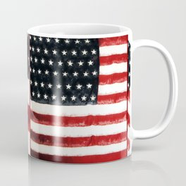 USA Flag ~ American Flag ~ Ginkelmier Inspired Coffee Mug