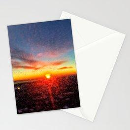 Chicago sunrise Stationery Cards
