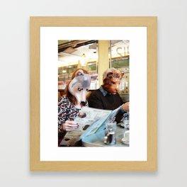 The Diner Framed Art Print