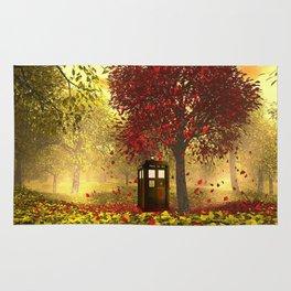 Tardis autumn Rug