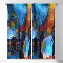 Ghosts of James Baldwin African American Portrait Blackout Curtain