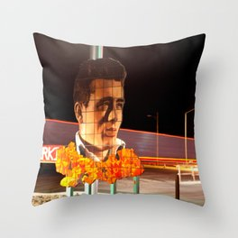 James Dean Fly by Night Throw Pillow